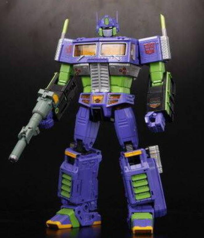 MP-10EVA - Masterpiece Optimus Prime - Evangelion Version