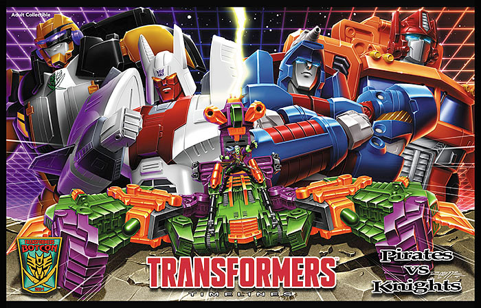 Botcon 2014 - Pirates vs. Knights Boxed Sets - Convention Exclusive