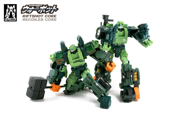 FansProject - WB-005 & WB-006 - Riftshot and Recoiler