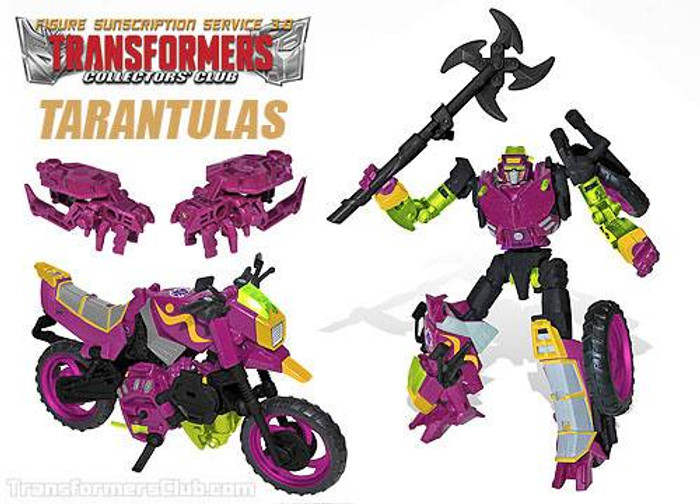 TFCC Subscription Figure 3.0 - Tarantulas