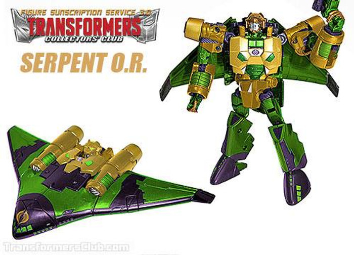TFCC Subscription Figure 3.0 - Serpent O.R.