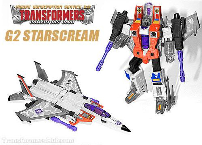 TFCC Subscription Figure 3.0 - G2 Starscream