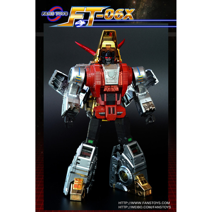 Fans Toys FT-04X - Scoria Limited Edition Colored Version