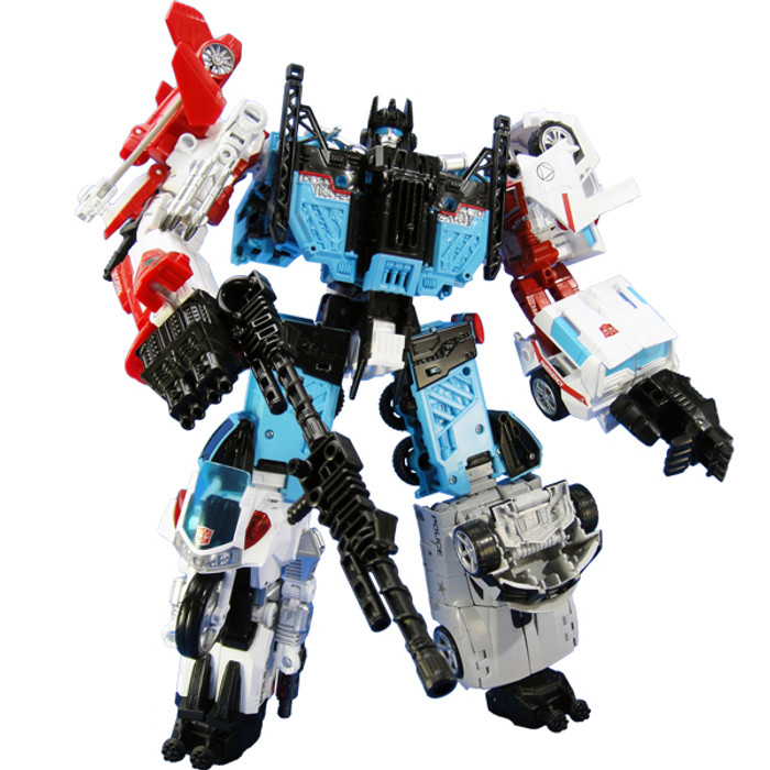 Transformers Unite Warriors UW-03 - Defensor (Takara Tomy Mall Exclusive)