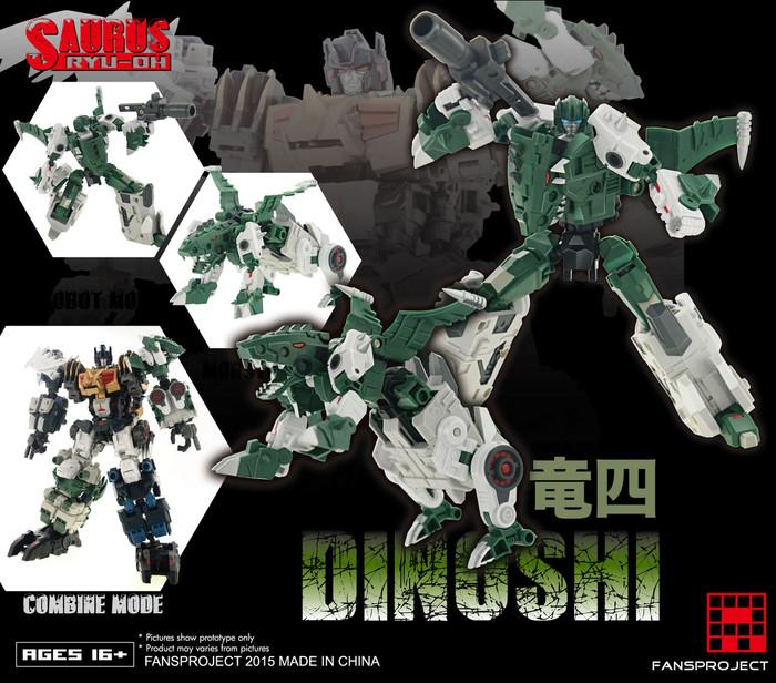 FansProject - Saurus Ryu-Oh: Dinoshi