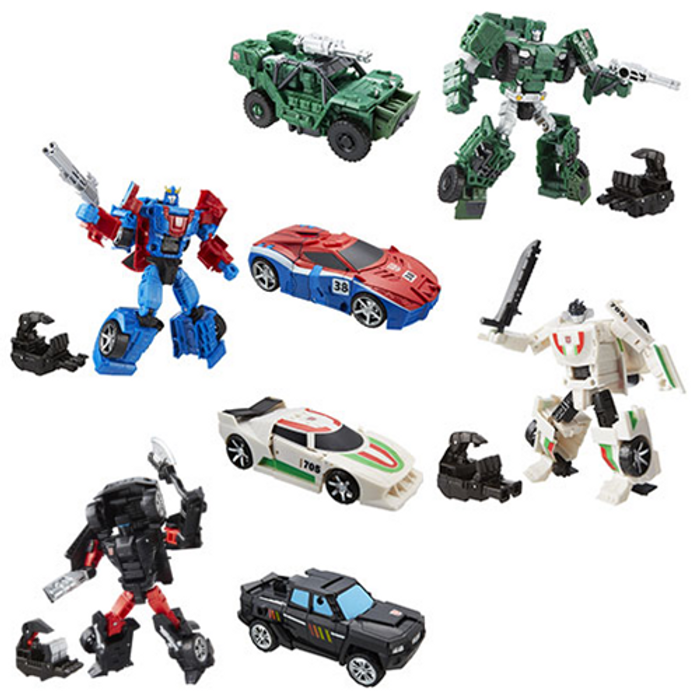 Transformers Generations Combiner Wars Deluxe Wave 6 - Set of 4