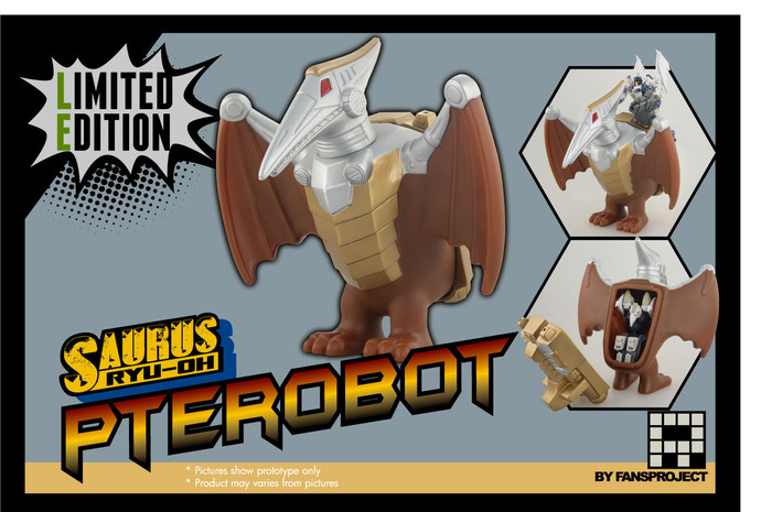 FansProject - Saurus Ryu-Oh: Pterobot Limited Edition