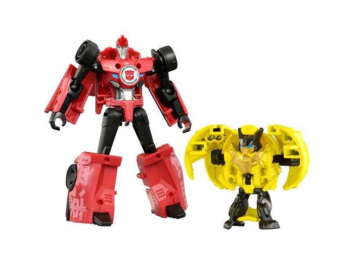 Transformers Adventure - TAV43 Barithunder & Sideswipe Jyuroku Armor