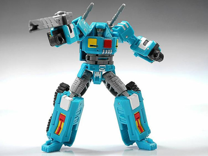 Machine Robo - MR-04 - Battle Robo (Gobots Reboot)