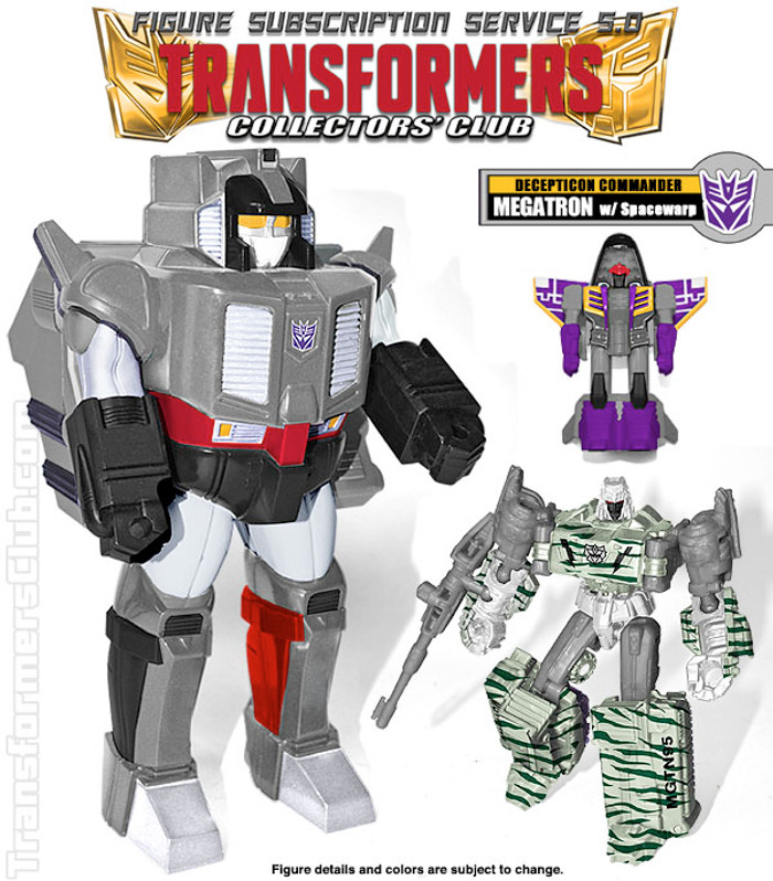 TFCC Subscription Figure 5.0 - Megatron with Space Warp