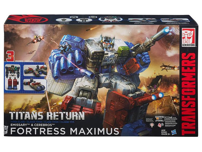 Transformers Generations Titans Return - Fortress Maximus