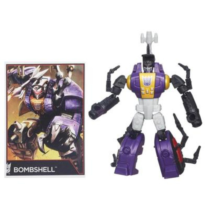 Transformers Generations Combiner Wars - Legends Class Bombshell