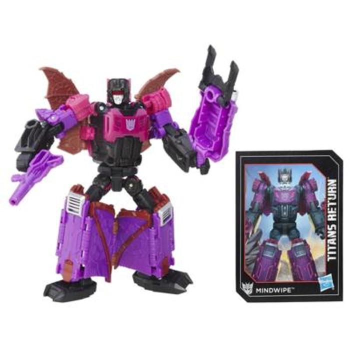 Transformers Generations Titans Return - Deluxe Class Mindwipe