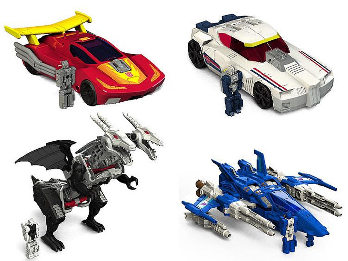 Transformers Generations Titans Return - Deluxe Wave 3 - Set of 4