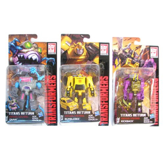 Transformers Generations Titans Return - Legends Class Wave 3 - Set of 3
