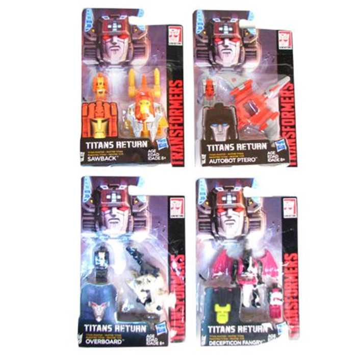 Transformers Generations - Titan Masters Wave 3 - Set of 4