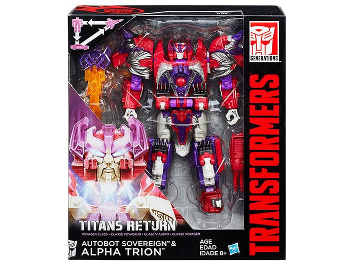 Transformers Generations Titans Return - Voyager Class Wave 02 - Alpha Trion