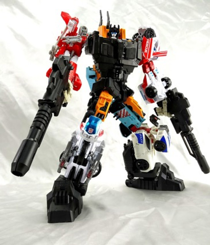 C+ Customs - THC-02 - Combiner Wars Defensor Add On Set