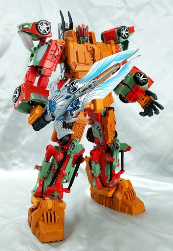 C+ Customs - THC-03 - Combiner Wars Victorion Add On Set