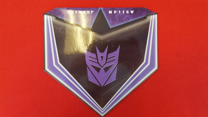 MP-11SW Masterpiece Skywarp Coin