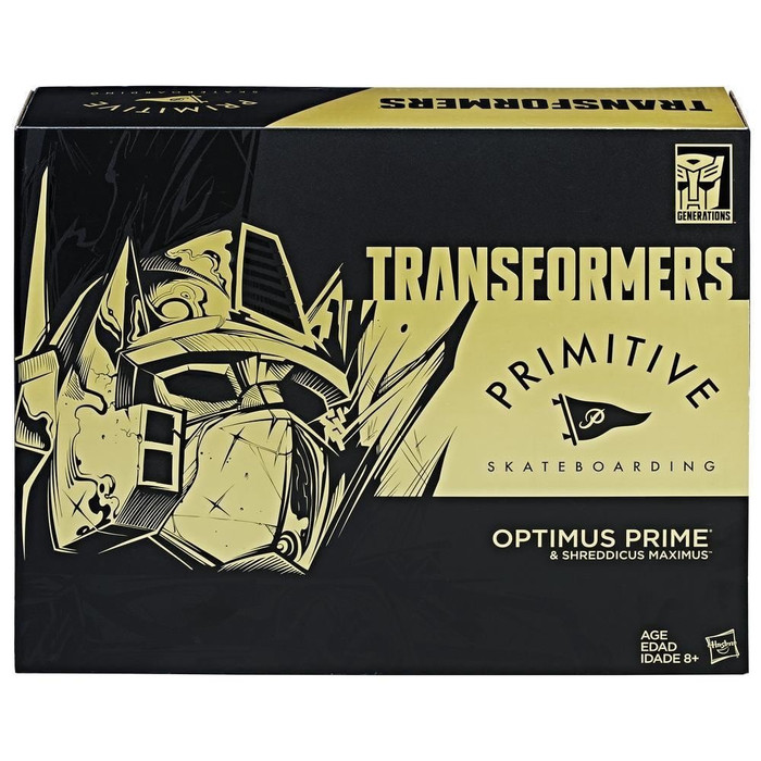 Transformers Generations Titans Return - Primitive Optimus Prime SDCC 2017 Exclusive