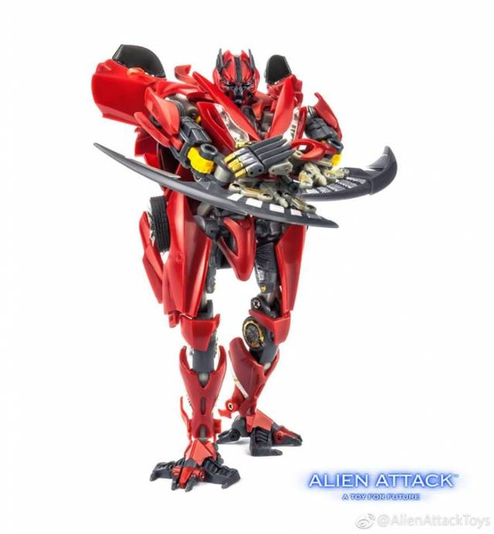 Alien Attack - STF-01 - Firage