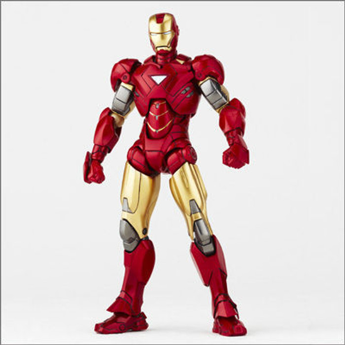Sci-Fi Revoltech 024 - Iron Man Mark VI