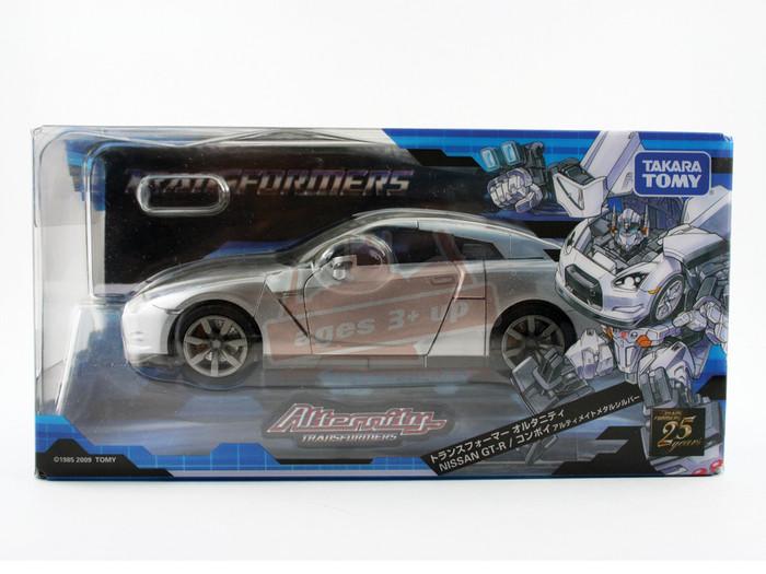 Alternity A-01 Nissan GT-R Convoy silver