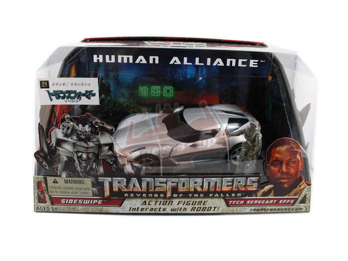 Human Alliance - Sideswipe and Epps