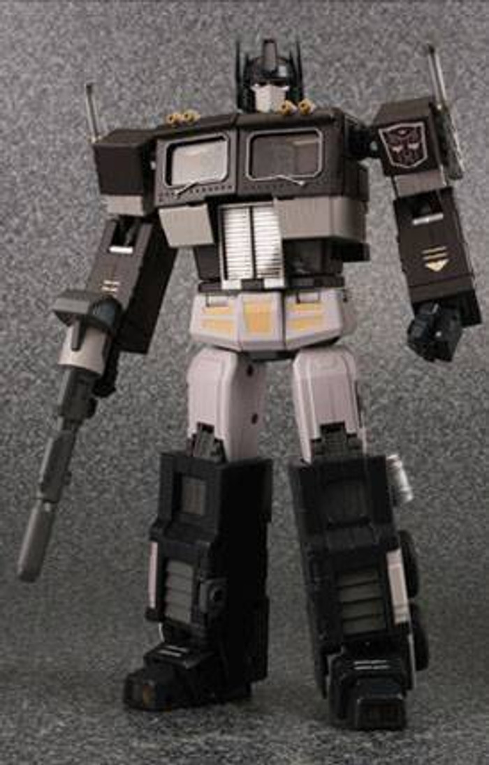 MP-04S Masterpiece Convoy Sleep Mode and Trailer