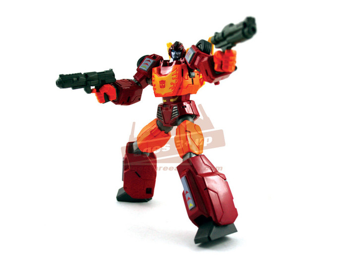 Revoltech 047 - Hot Rodimus Action Figure