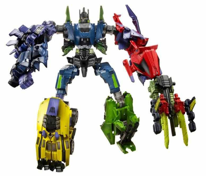 Fall of Cybertron Bruticus Set of 5
