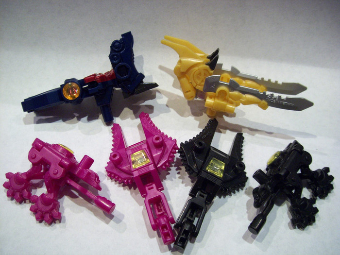 Micron Arms Gashapon #1 (Capsule Toy) - Set of 6