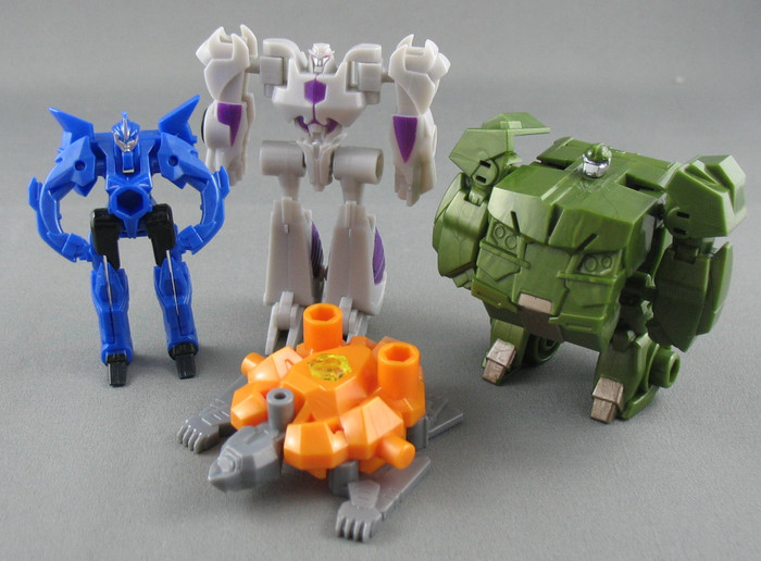 Micron Arms Gashapon #2 (Capsule Toy) - Set of 4