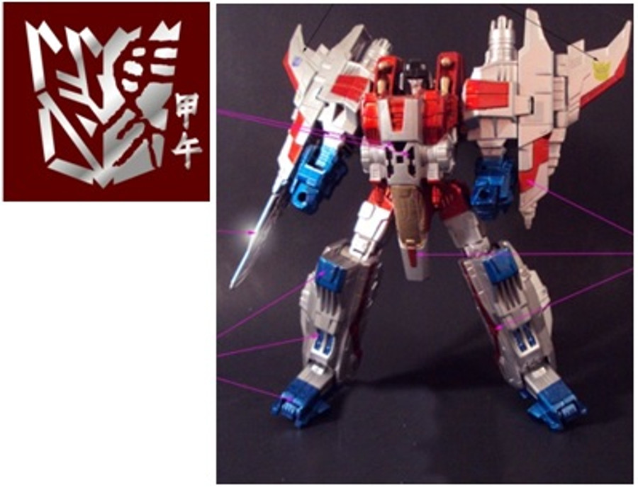 Year of the Horse Starscream