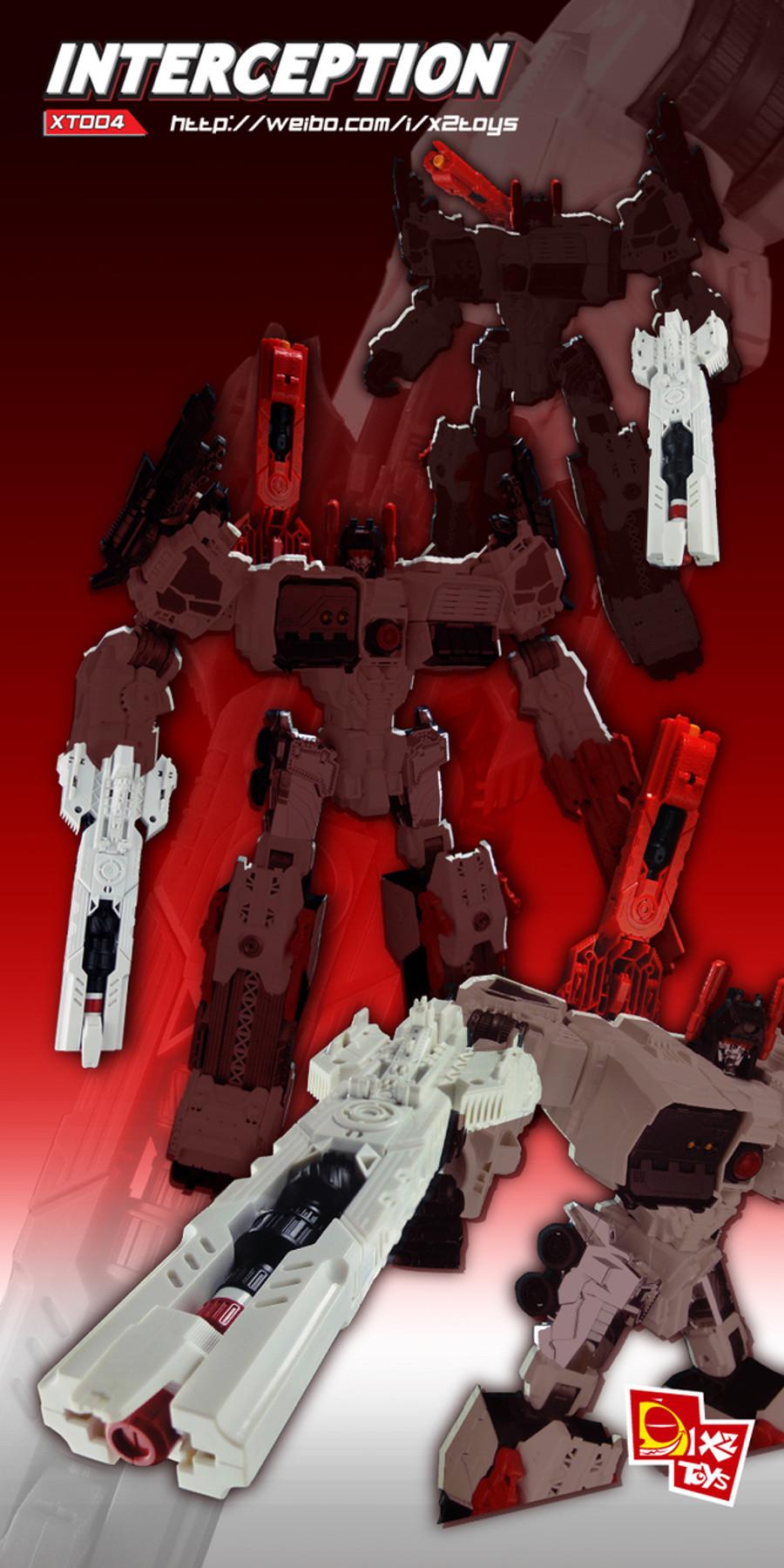 X2 Toys - XT004 Interceptor - White