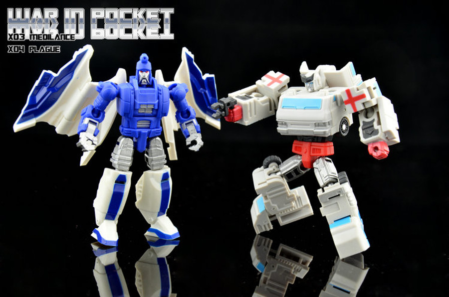DX9 - X03 Medilance & X04 Plague Set of 2