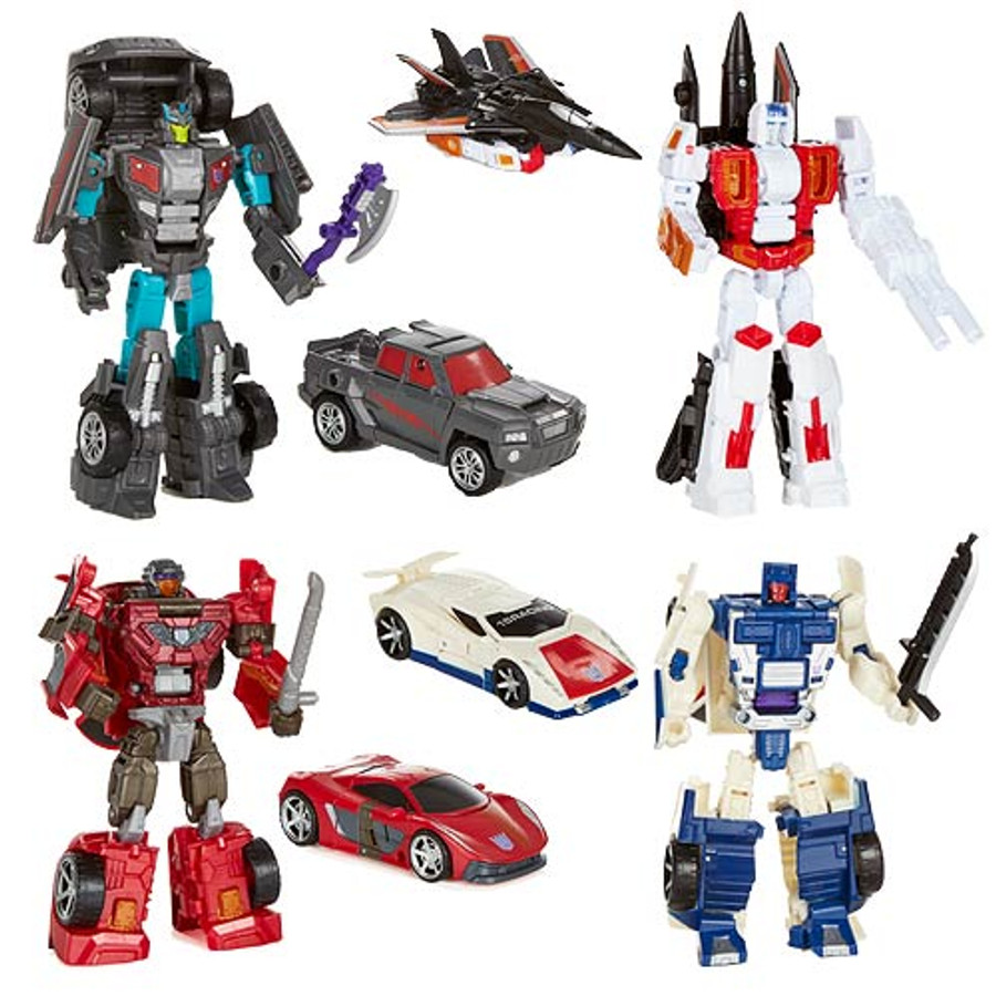 Transformers Generations Combiner Wars Deluxe Wave 2 - Set of 4