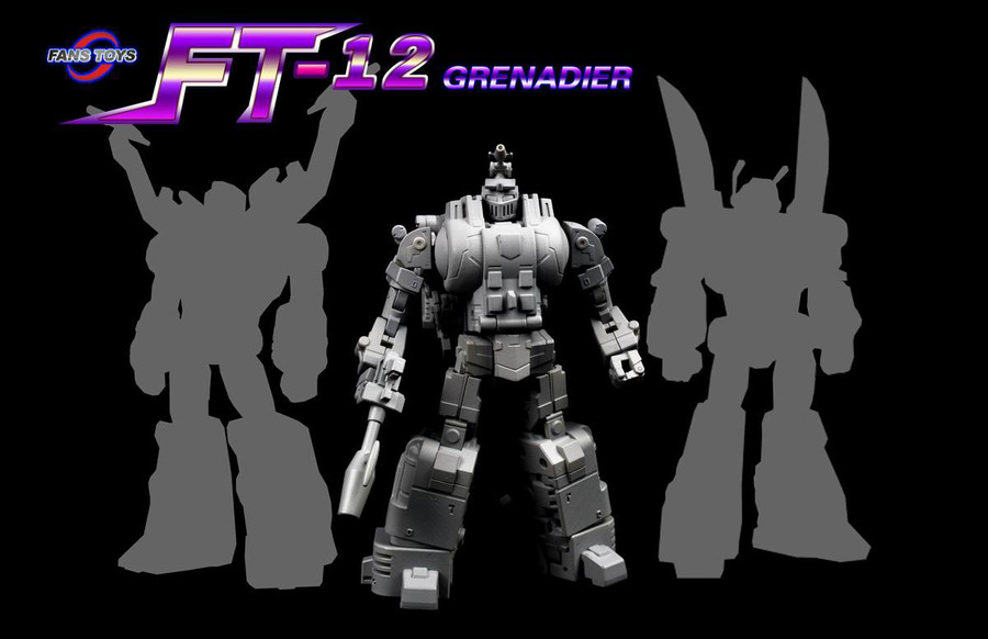 Fans Toys - FT-12T Grenadier Purple Chest Version