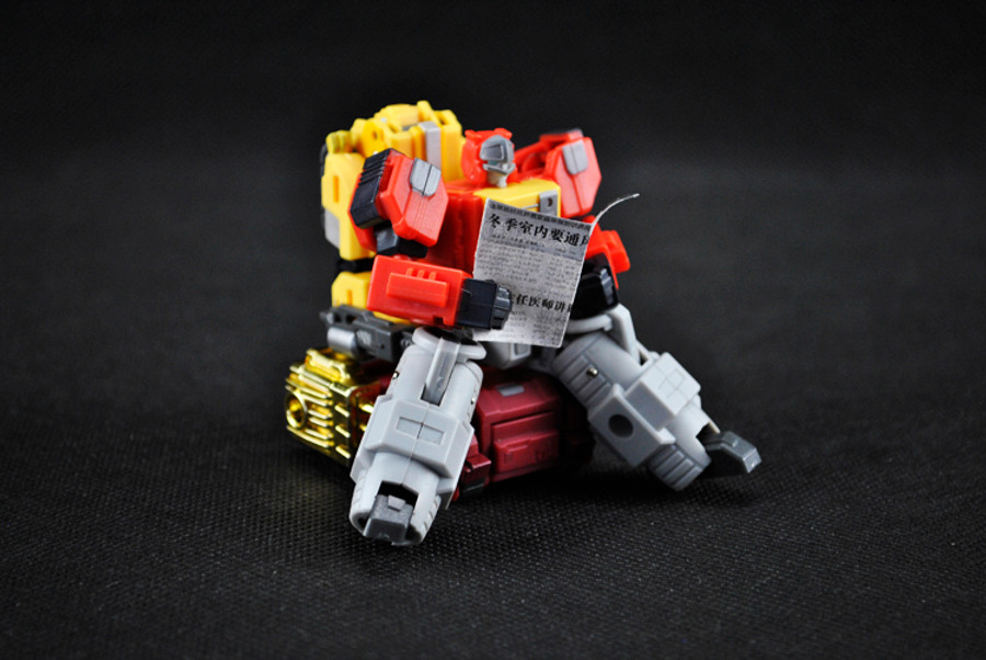 Iron Factory - IF-EX03 Sonictech, Bassrhino, Leotrible (set of 3)