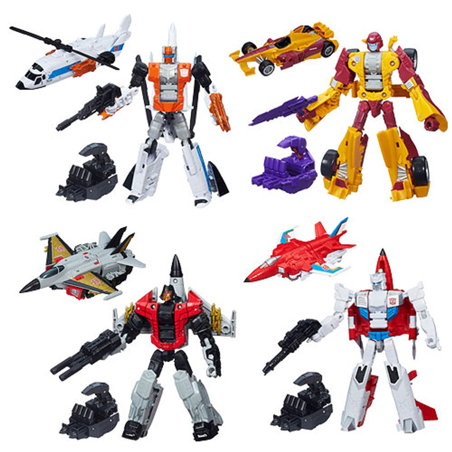 Transformers Generations Combiner Wars Deluxe Wave 1 - Set of 4