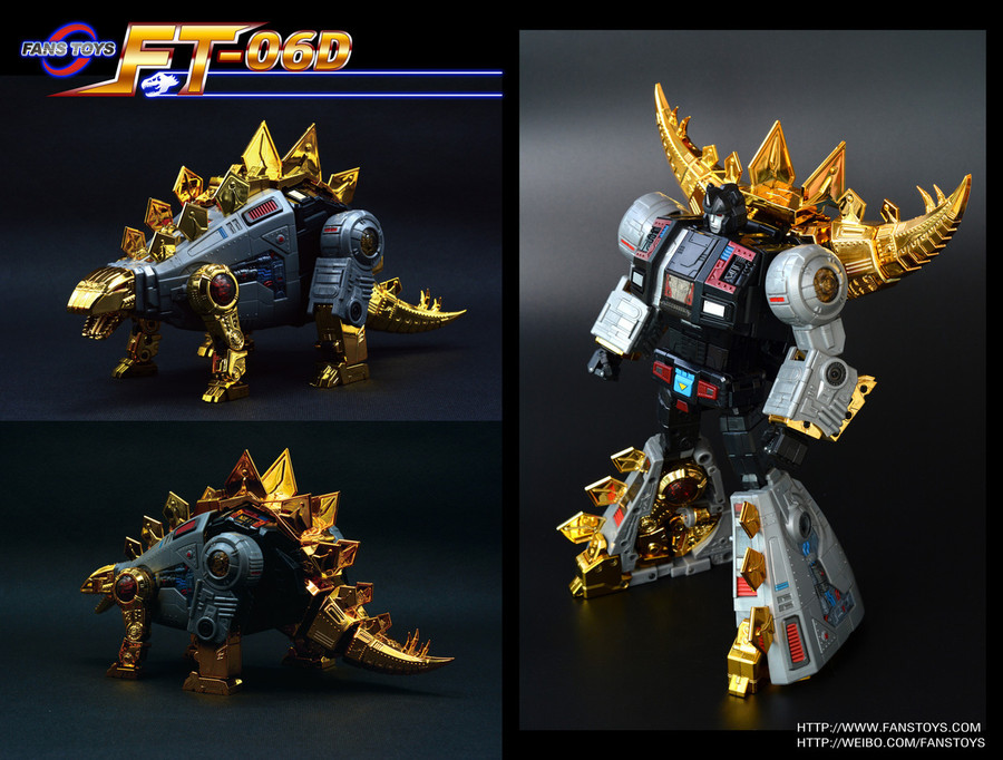 Fans Toys - FT-06D Sever Limited Edition of 500 - Iron Dibots no. 3