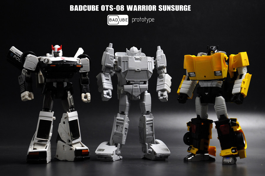 BadCube - OTS-08 Warrior Sunsurge