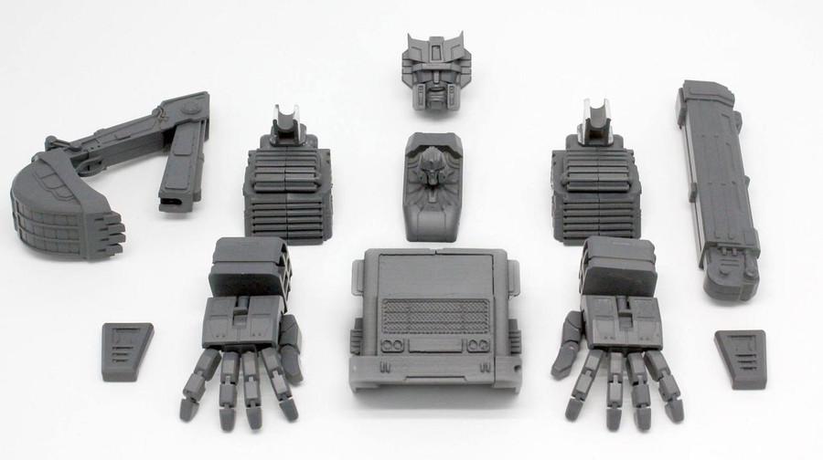 Perfect Effect - PC-06 Perfect Combiner Upgrade Set for Combiner Wars Devastator