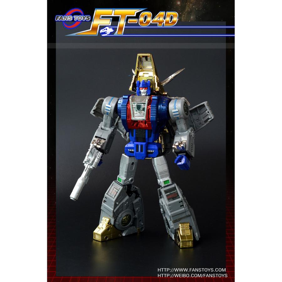 Fans Toys FT-04D - Scoria Limited Edition Blue Color