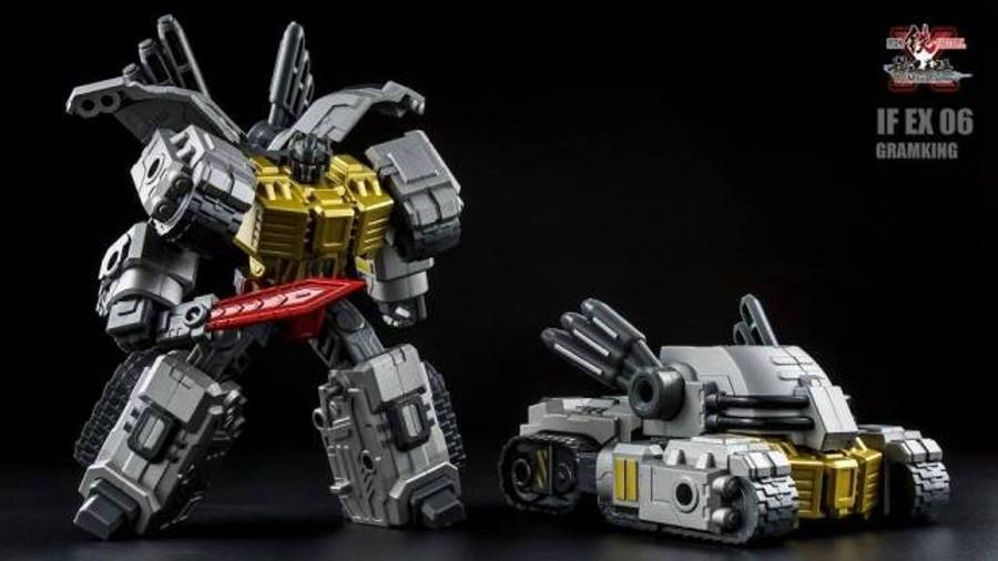 Iron Factory - IF-EX06-10 set of 5 Ashura Knights