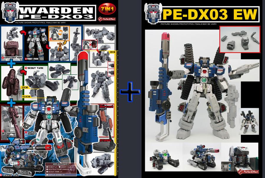 PE DX-03 Warden & PE-DX03EW Add-on Kit Set