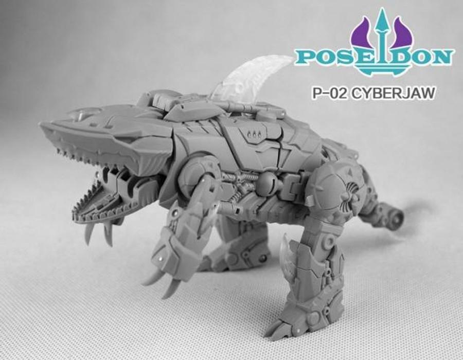 TFC Combiner Poseidon P02 - Cyberjaw