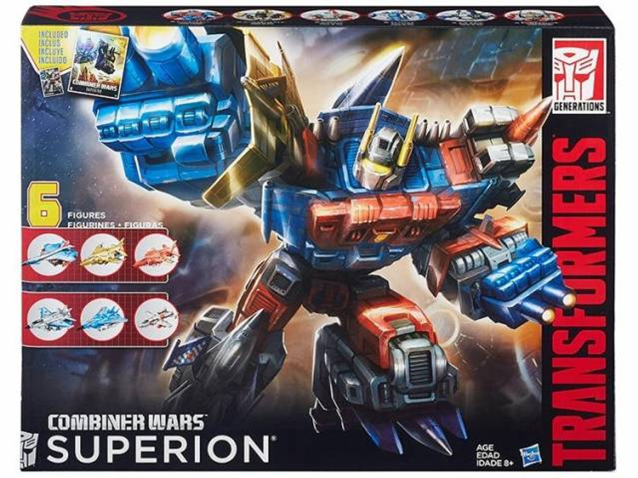 Transformers Generations Combiner Wars G2 Superion Boxed Set