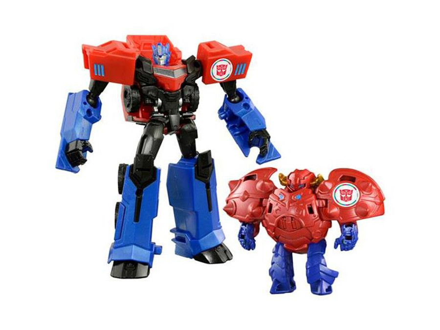 Transformers Adventure - TAV41 Gravity & Optimus Prime Jyuroku Armor